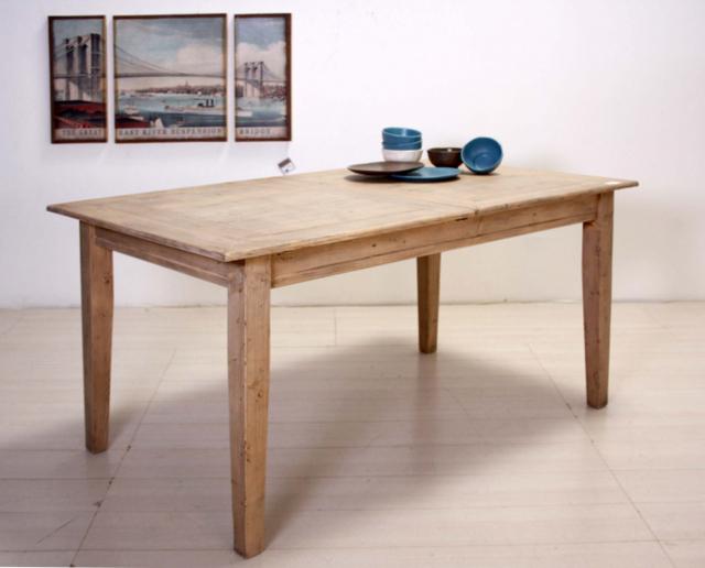 Tavolo etnico legno naturale etnico outlet mobili etnici - Tavolo legno naturale ...
