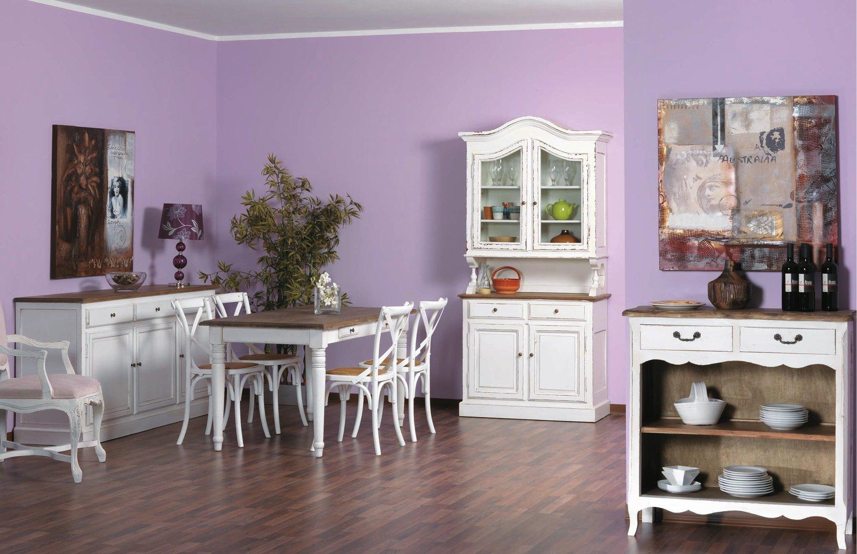 Vetrina provenzale legno bianco librerie shabby chic for Bianco e dintorni arredamento provenzale