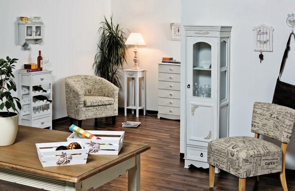 Mobile ingresso provenzale bianco mobili provenzali e shabby for Tipi di arredamento