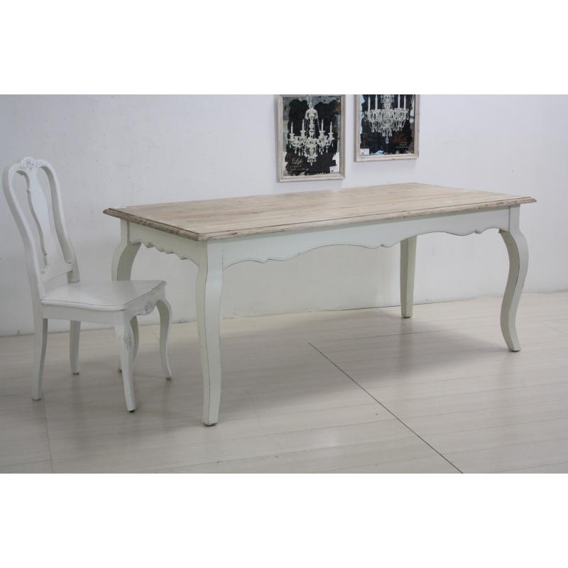 tavoli legno provenzali e shabby chic novità online etnico outlet - Tavoli Da Soggiorno Stile Provenzale