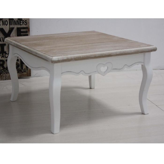 Tavolino Salotto Provenzale.Tavolino Da Salotto Bianco Design Moderno Zeta Made In Italy