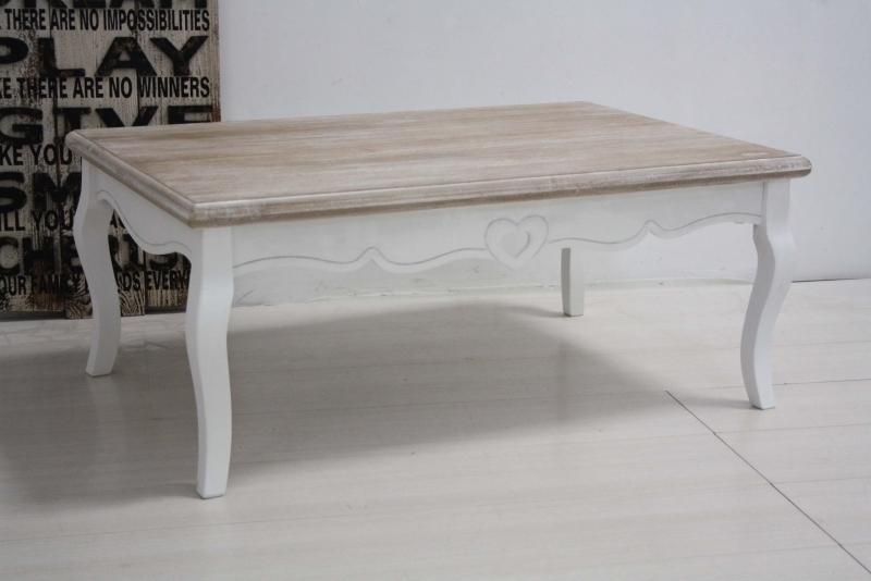 Tavolini In Legno Bianco : Tavolino legno bianco shabby francese etnico outlet