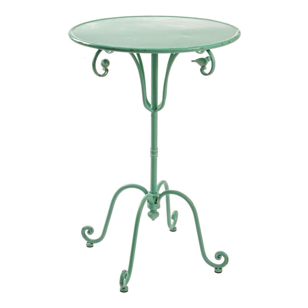 Tavolino verde in ferro tavoli giardino verdi for Prezzo ferro al kg oggi