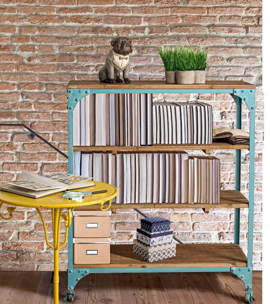 Tavolino verde in ferro tavoli giardino verdi - Libreria verde ...