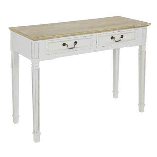 Consolle bianca shabby chic