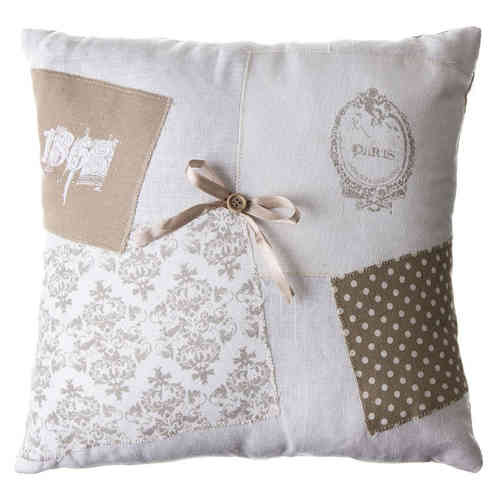 Cuscino patchwork francese