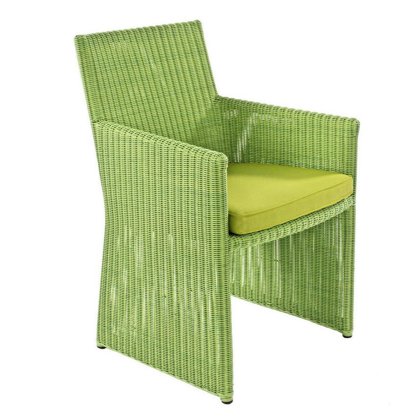 Sedia polyrattan da giardino etnico outlet mobili etnici for Outlet mobili da giardino