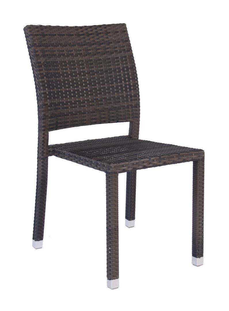 Sedia da giardino impilabile brown etnico outlet mobili for Listino prezzi ascensori otis