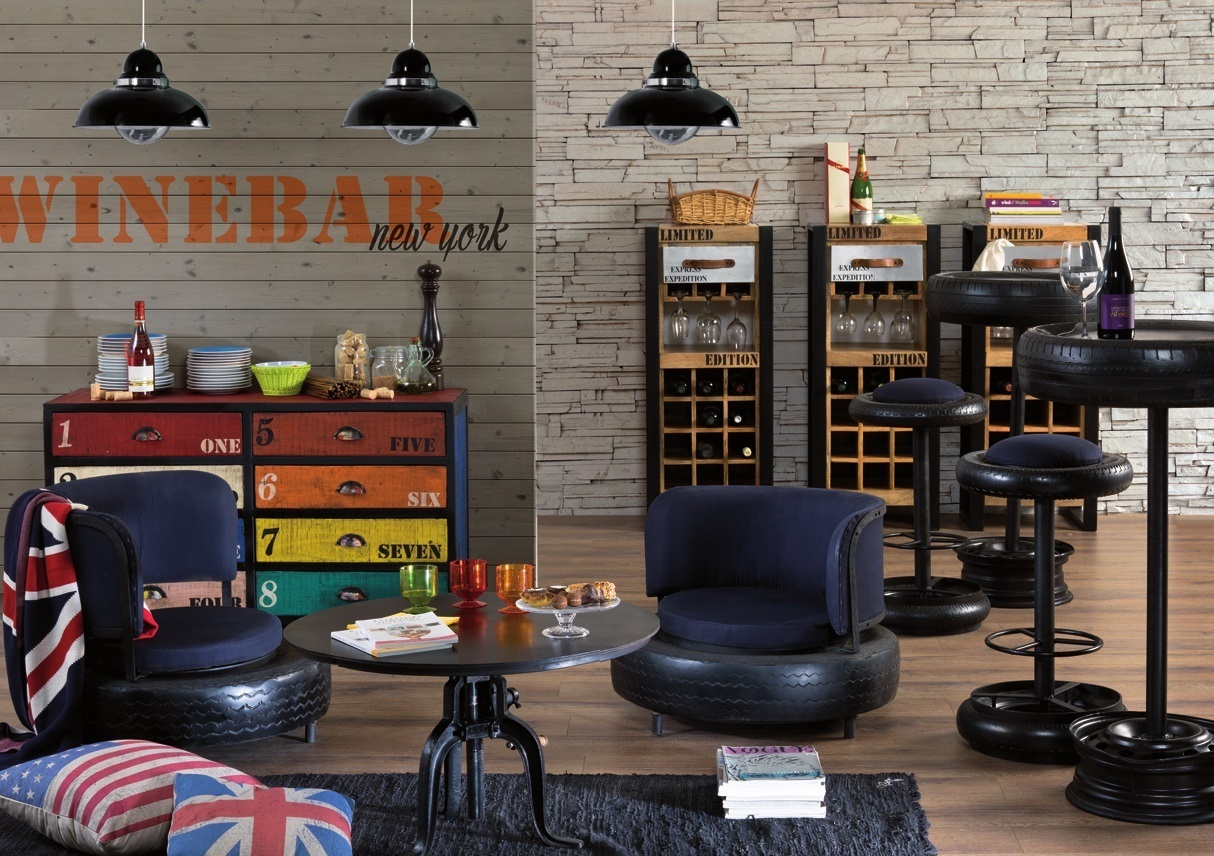 Beautiful arredamento industriale vintage ideas for Arredamento shop on line