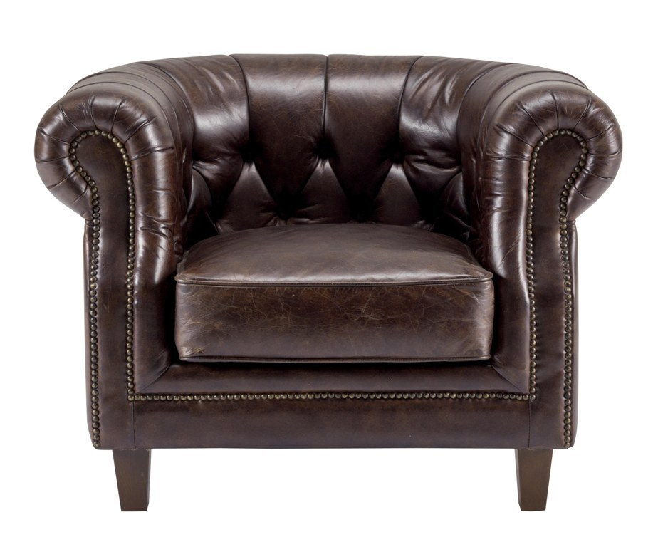 Poltrona chesterfield in pelle etnico outlet mobili etnici for Poltrona chesterfield