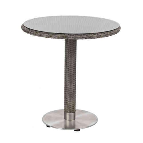 Tavoli da giardino polyrattan per esterno prezzi etnico outlet for Tavolo in vetro tondo