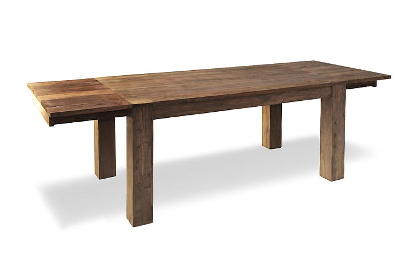 Tavolo etnico allungabile in legno naturale Outlet mobili etnici