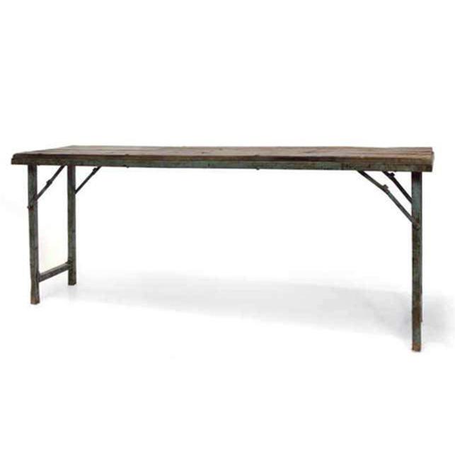 Tavolo consolle vintage base ferro mobili vendita online - Mobili in ferro vintage ...