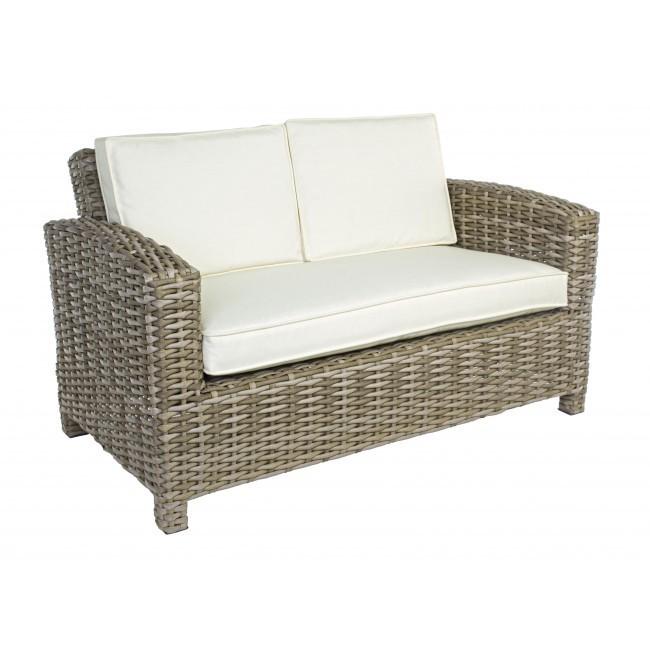 Divano 2 posti per esterno mobili etnici provenzali giardino for Offerte divani esterno