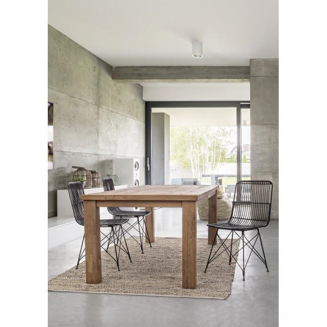 Set tavolo 4 poltrone per esterno for Poltrone per esterno