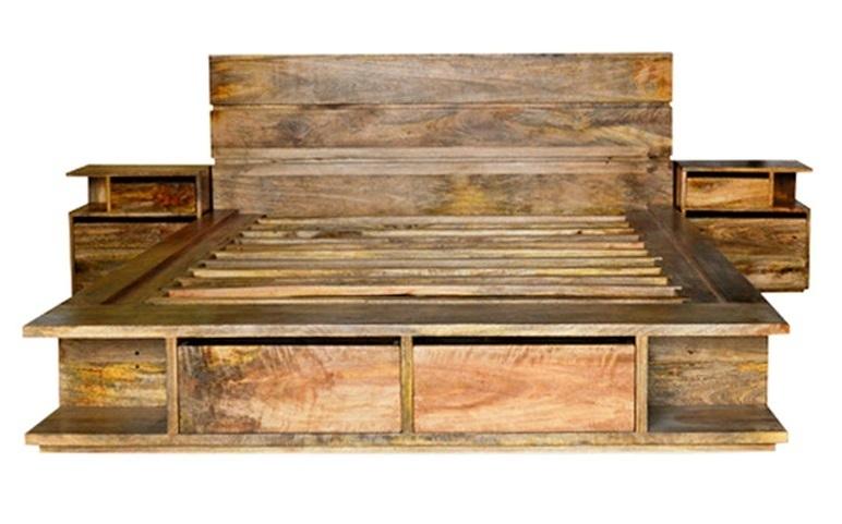 Armadi bassi offerte e risparmia su ondausu - Letto matrimoniale legno naturale ...