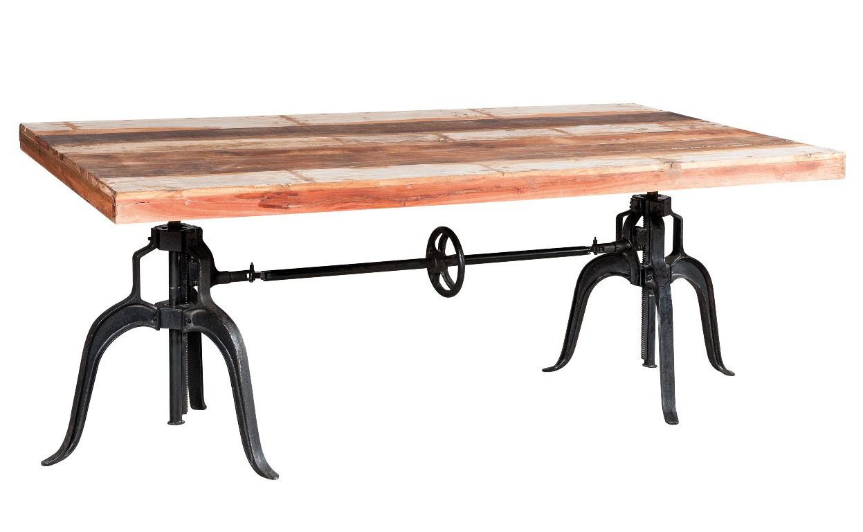 tavolo industrial legno riciclato mobili vendita online
