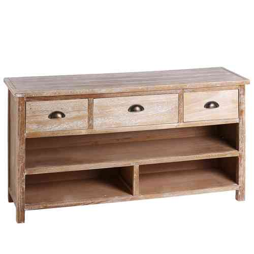 Porta tv etnici mobili vendita on line etnico outlet for Paulownia legno mobili