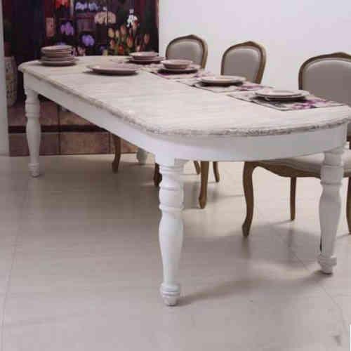 Tavoli legno provenzali e shabby chic novit online etnico outlet - Dimensioni tavolo tondo 4 persone ...