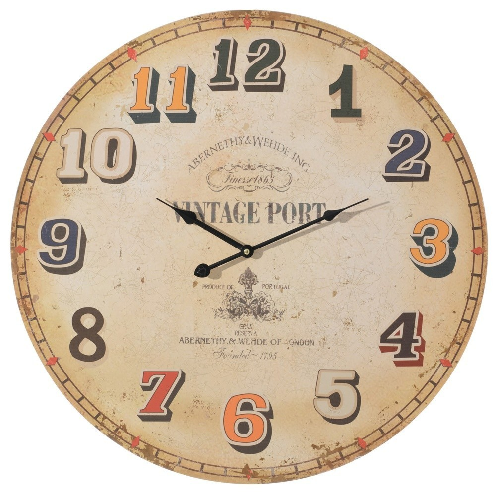 Orologio da parete vintage - Etnico Outlet mobili etnici