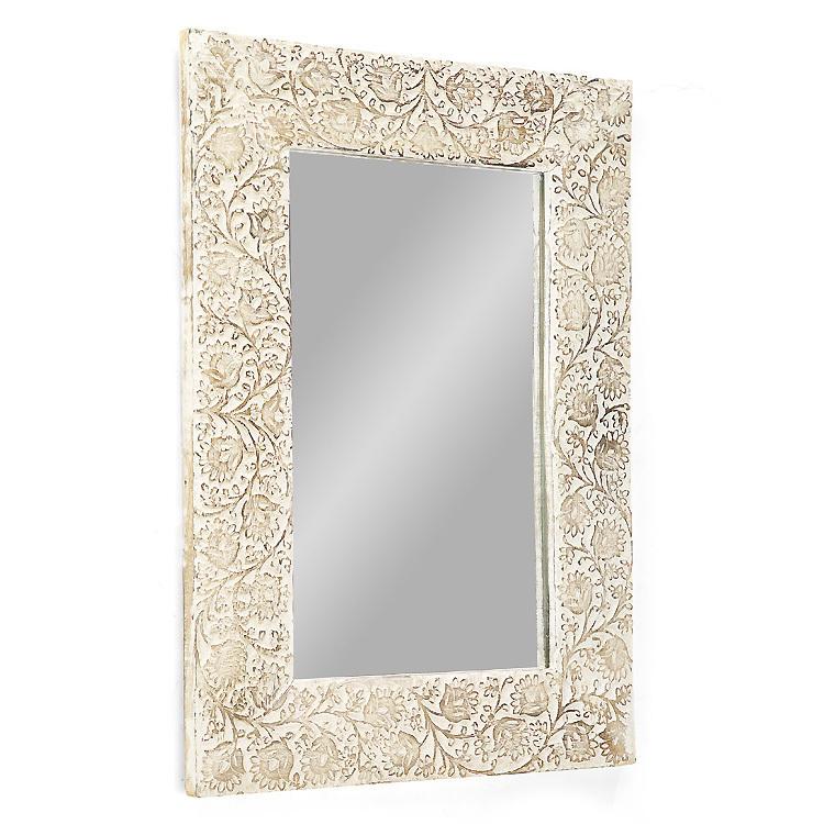Specchio legno decapato shabby - Etnico Outlet mobili etnici