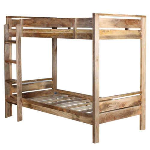 LETTI a castello ETNICI legno massello Stile vintage e industrial