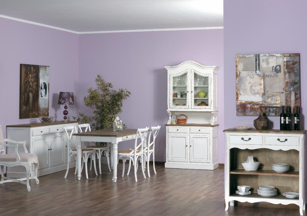 Tavolo provenzale legno massello etnico outlet mobili - Outlet mobili provenzali ...