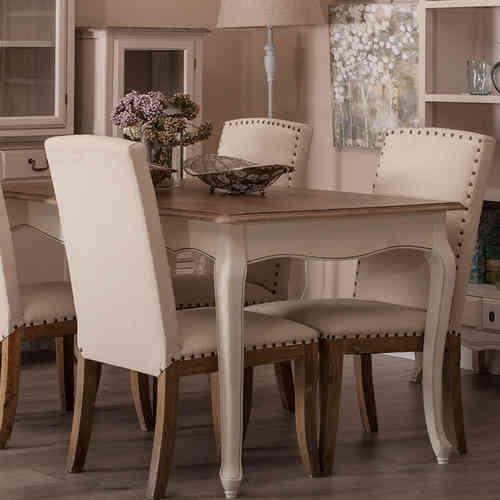 Tavoli legno provenzali e shabby chic novit online etnico - Sala da pranzo shabby chic ...