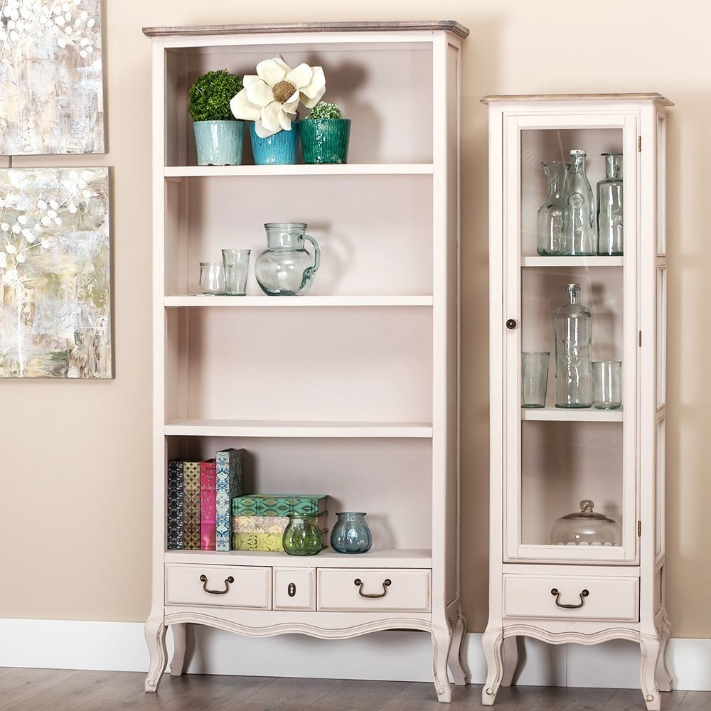 Libreria shabby chic etnico outlet mobili shabby chic for Libreria on line