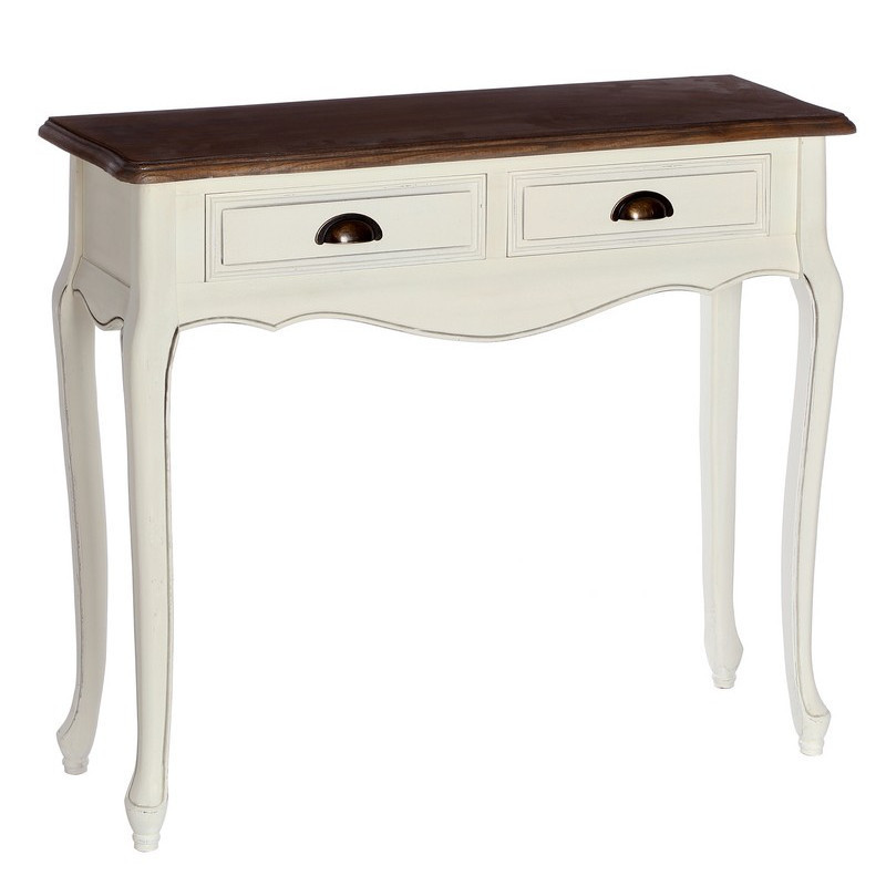 Consolle bianca shabby etnico outlet mobili shabby chic for Consolle bianca