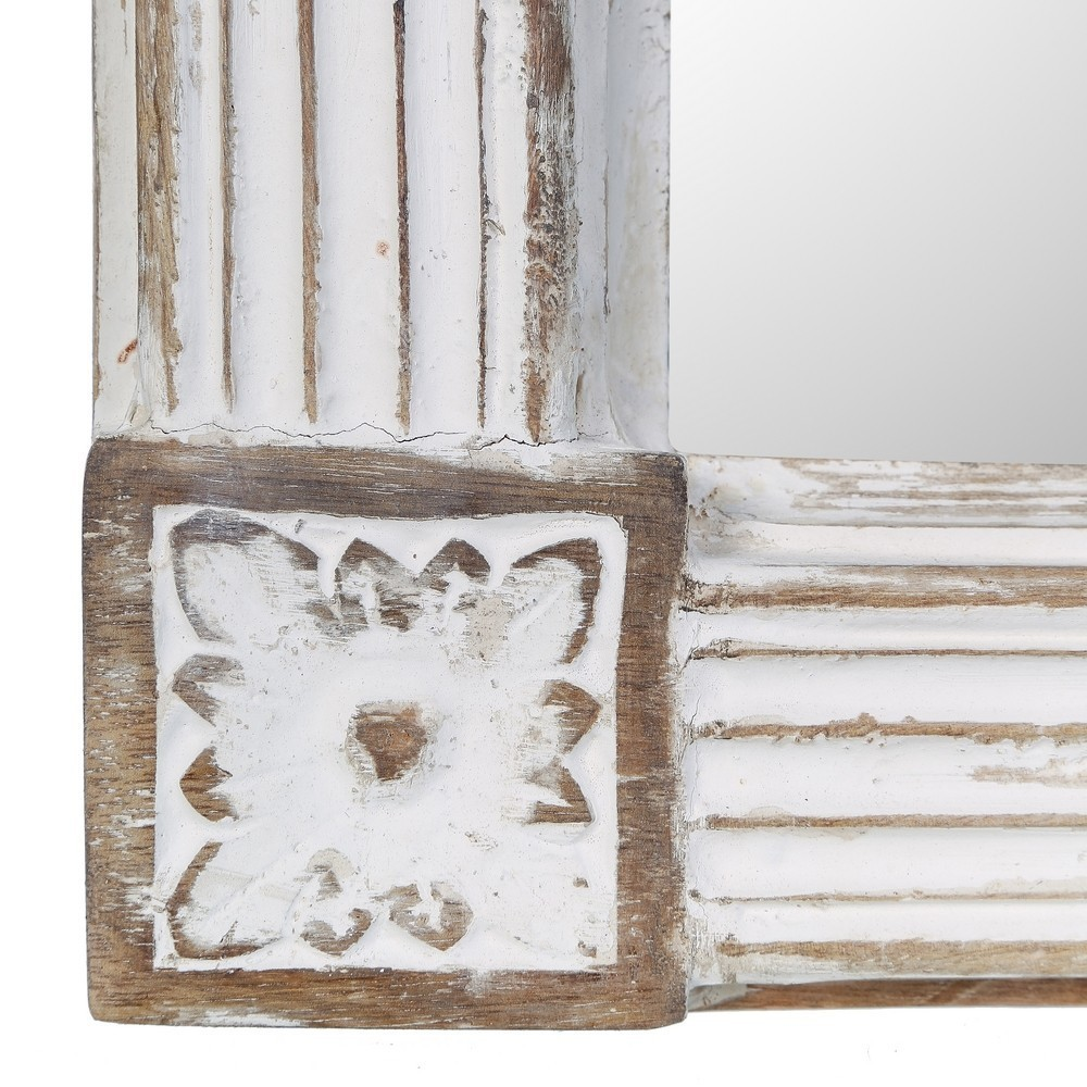 Specchio barocco bianco shabby specchiere barocche online - Specchiere on line ...