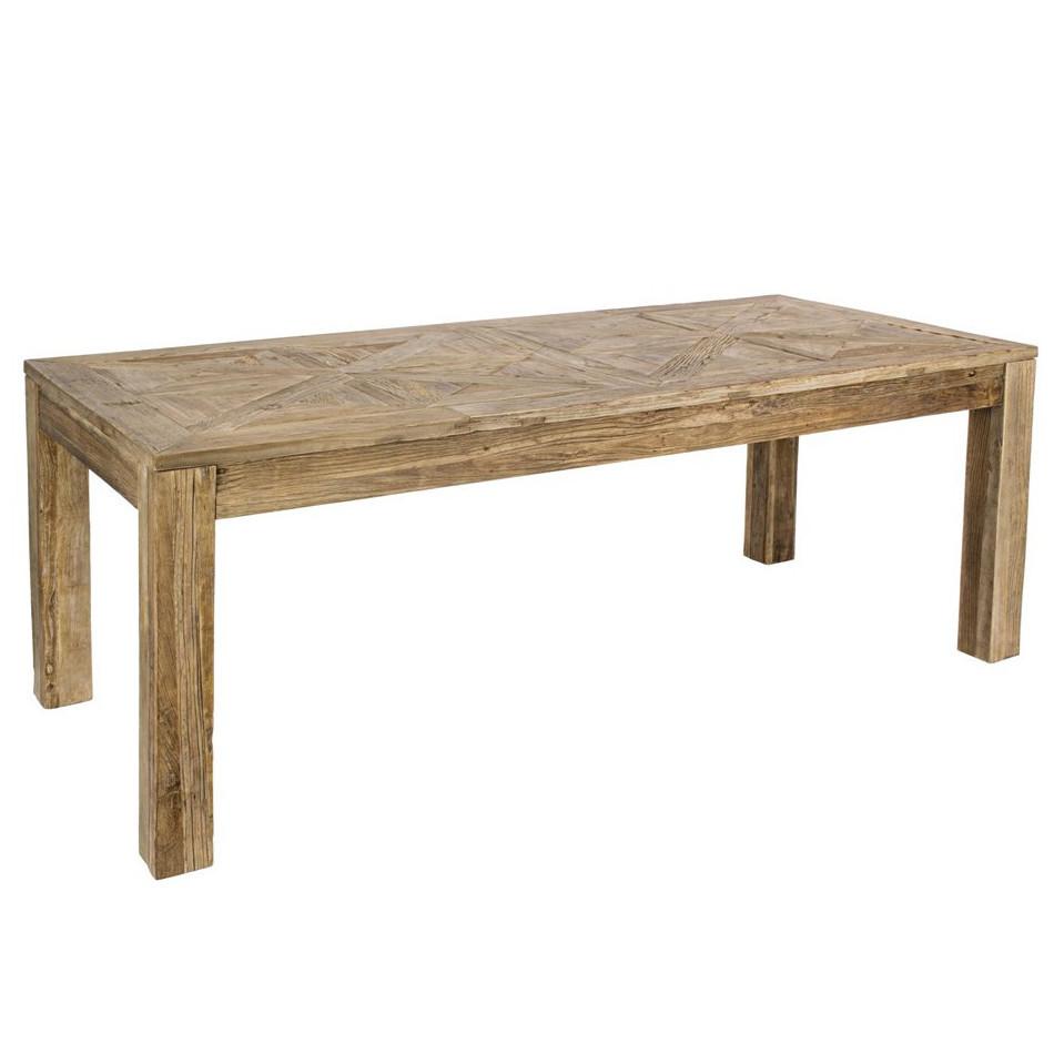 Tavolo legno massello rustico etnico outlet mobili etnici rustici - Tavolo legno massello ...