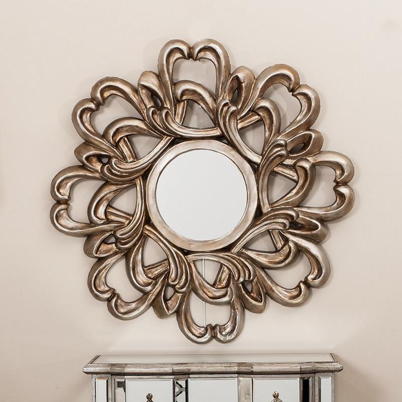 Specchio Legno Argento Shabby Chic Specchi E Quadri
