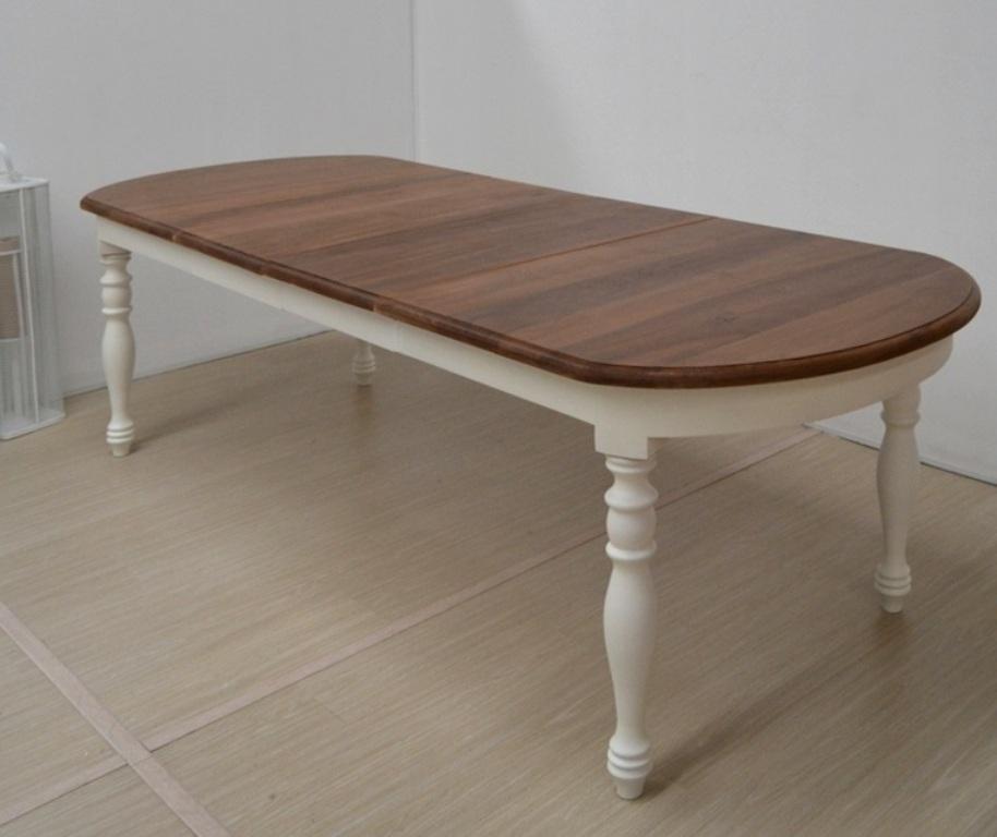 Tavolo ovale bianco provenzale tavoli provenzali allungabili for Tavolo ovale bianco design