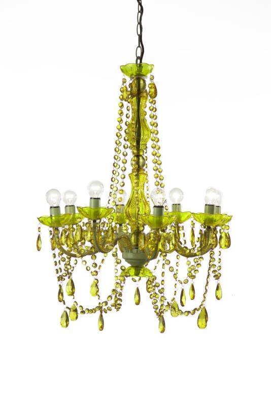 Lampadario verde barocco Lampadari provenzali barocchi