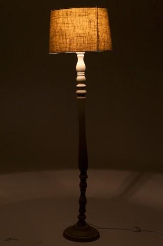 Lampada da terra grigia shabby lampade e luci shabby online for Lampade shabby chic online