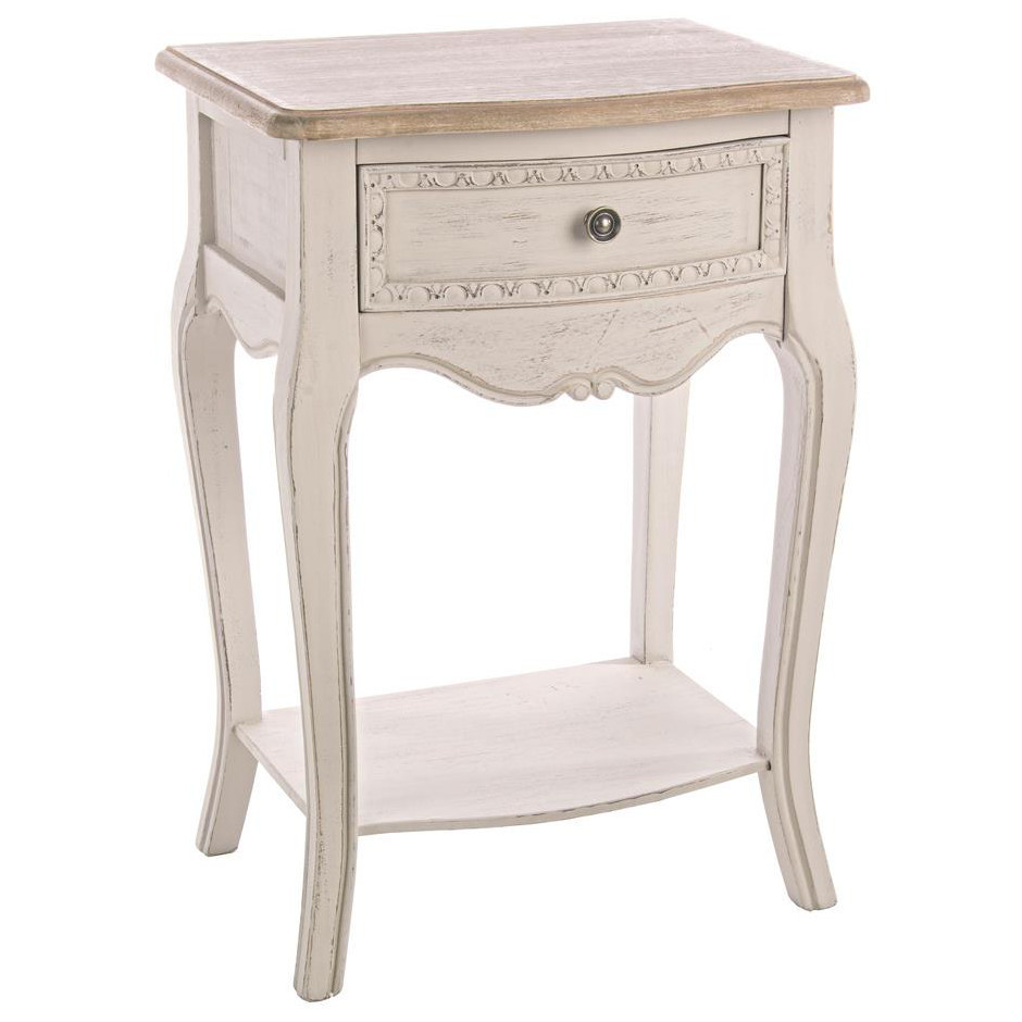 mobiletto crema shabby etnico outlet mobiletti shabby chic online. Black Bedroom Furniture Sets. Home Design Ideas
