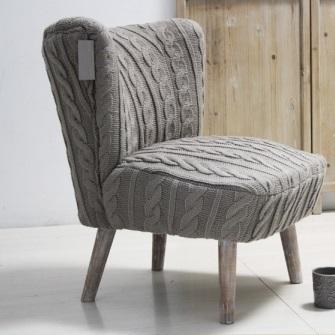 Poltrona provenzale lana divani e poltrone francesi online for Poltrone online