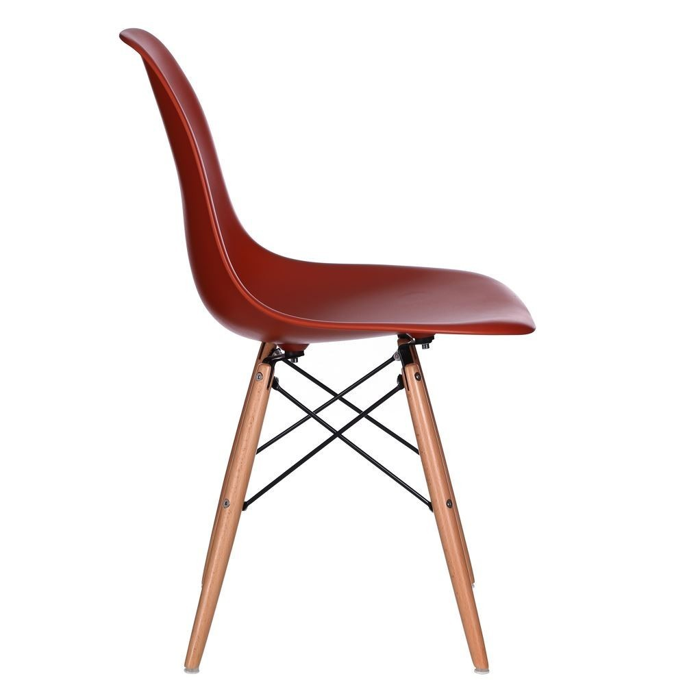 Sedia vintage rossa sedie rosse online for Sedia rossa