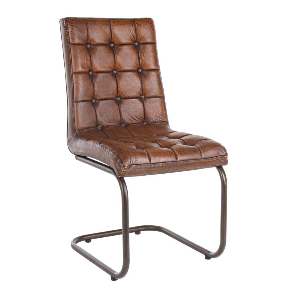 Sedia etnica vera pelle sedie vintage for Sedie pelle e legno