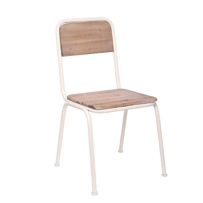 Sedia ferro e legno shabby sedie ferro battuto online for Sedie in ferro e legno