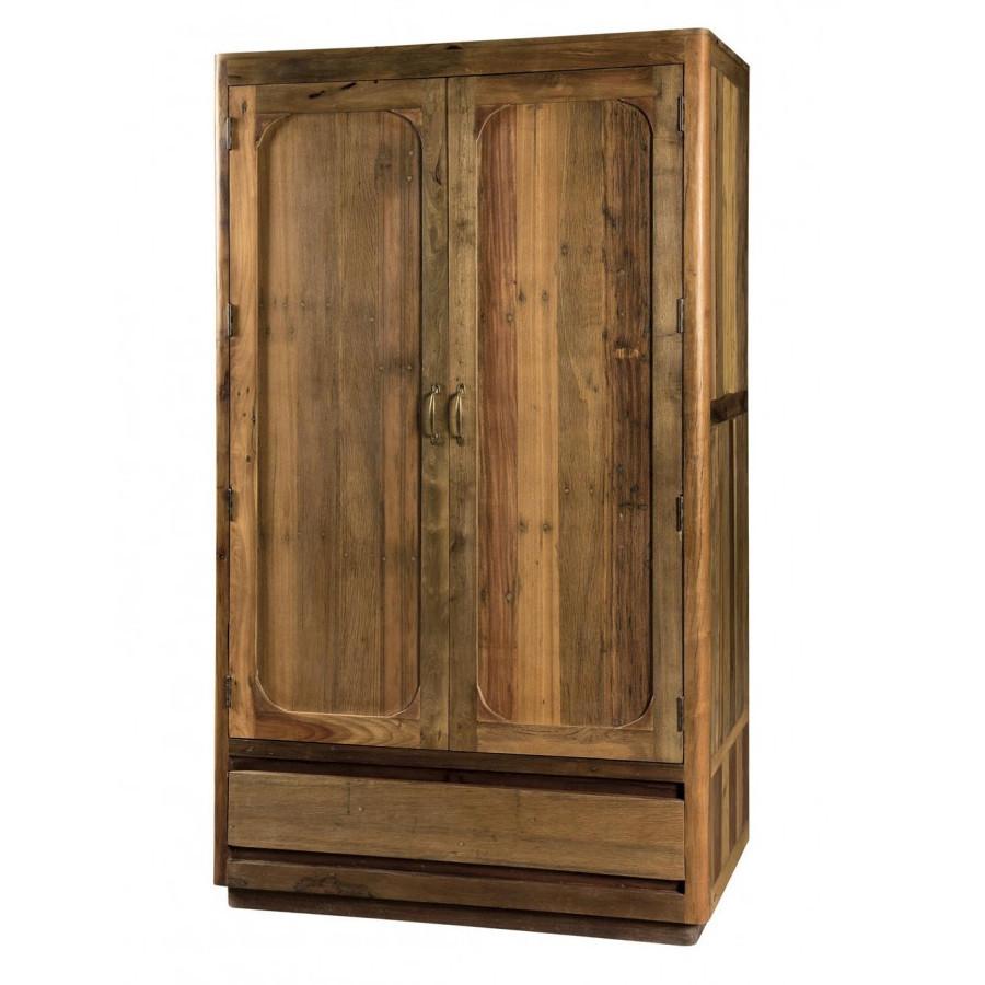 Armadio in legno riciclato