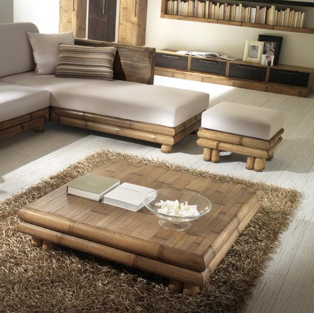 Tavolino bamb da salotto tavolini bamboo for Tavolini da salotto apribili