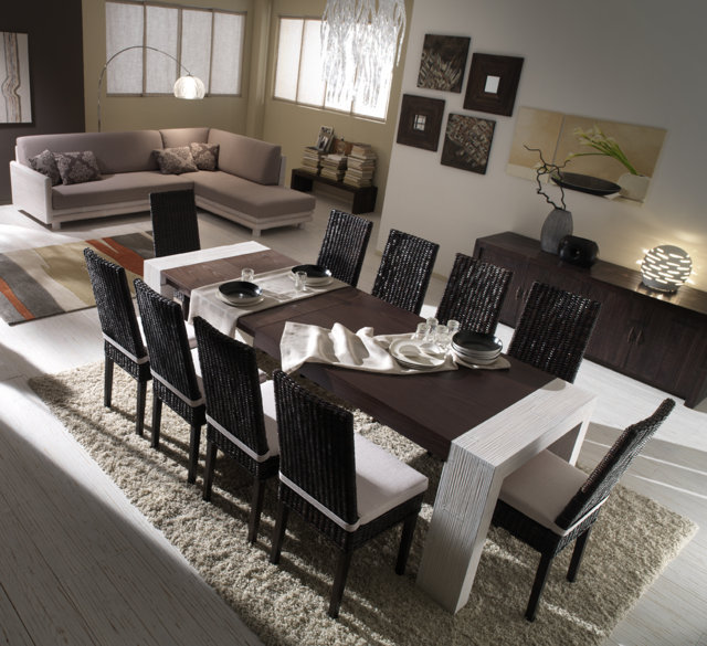 tavolo bamb allungabile tavoli etnici allungabili. Black Bedroom Furniture Sets. Home Design Ideas