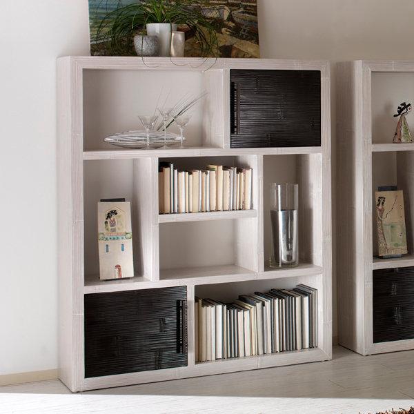 Libreria etnica in crash bamb mobili etnici provenzali - Mobili in bambu ...