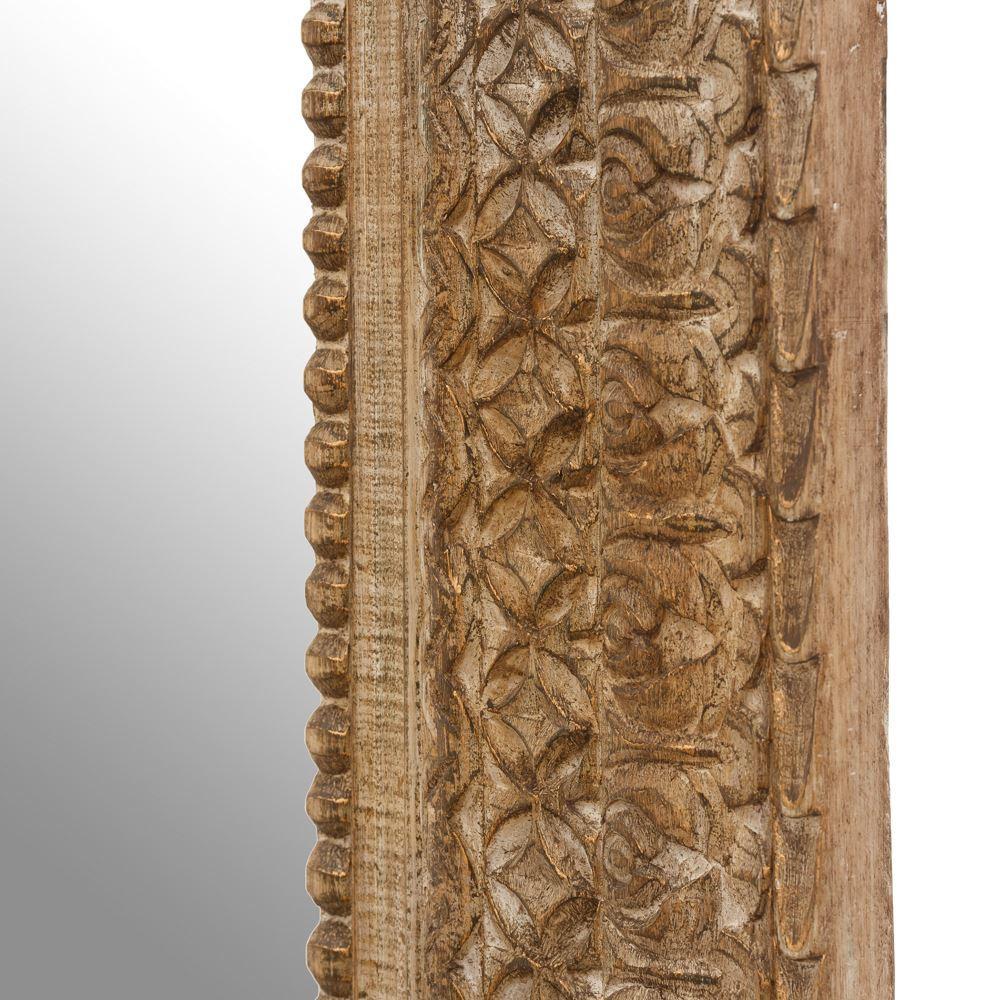 Specchio etnico legno anticato - Specchio anticato ...
