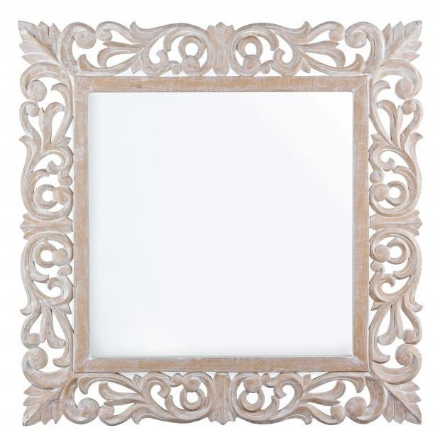 Specchio decapato provenzale mobili etnici provenzali - Specchio romantico riflessi prezzo ...