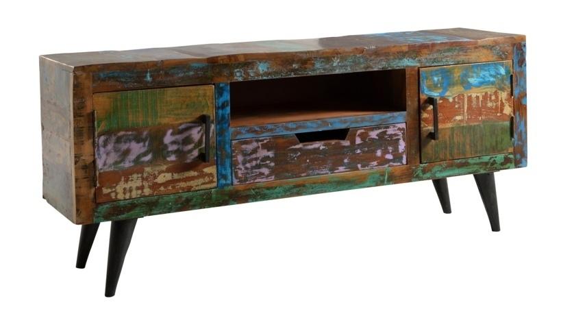 Porta tv vintage palm beach mobili industrial e vintage - Mobili tv vintage ...
