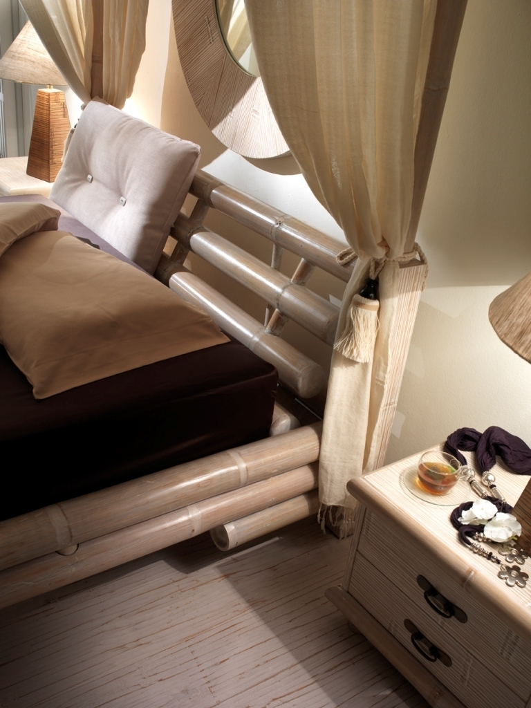 Set 8 tende per letto a baldacchino tenda per letti - Letto a baldacchino prezzo ...