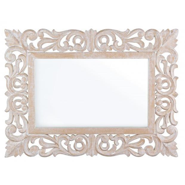 Specchio decapato francese mobili etnici provenzali shabby - Specchio in francese ...